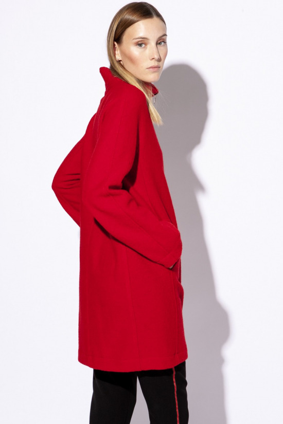MANTEAU FORESTER rouge
