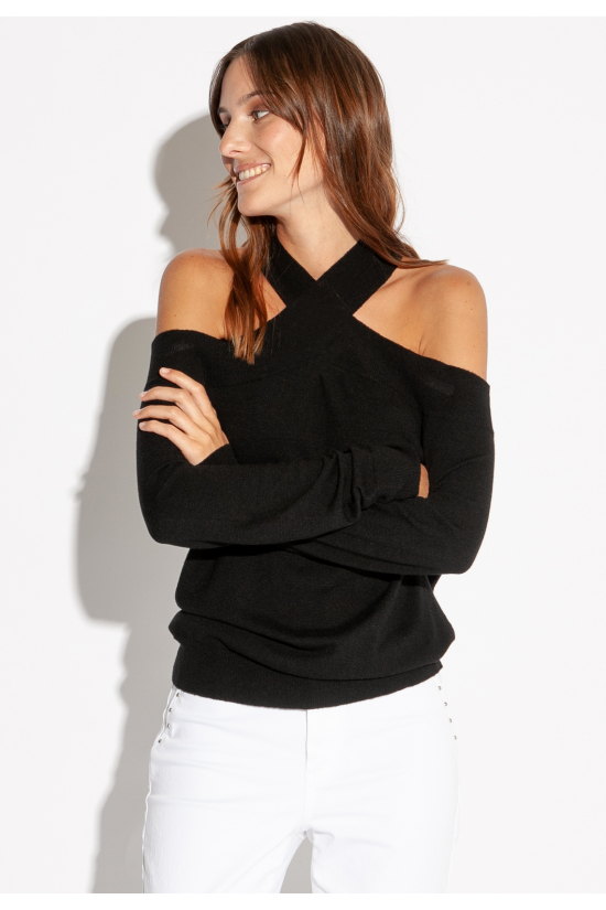 PULL MARLY noir