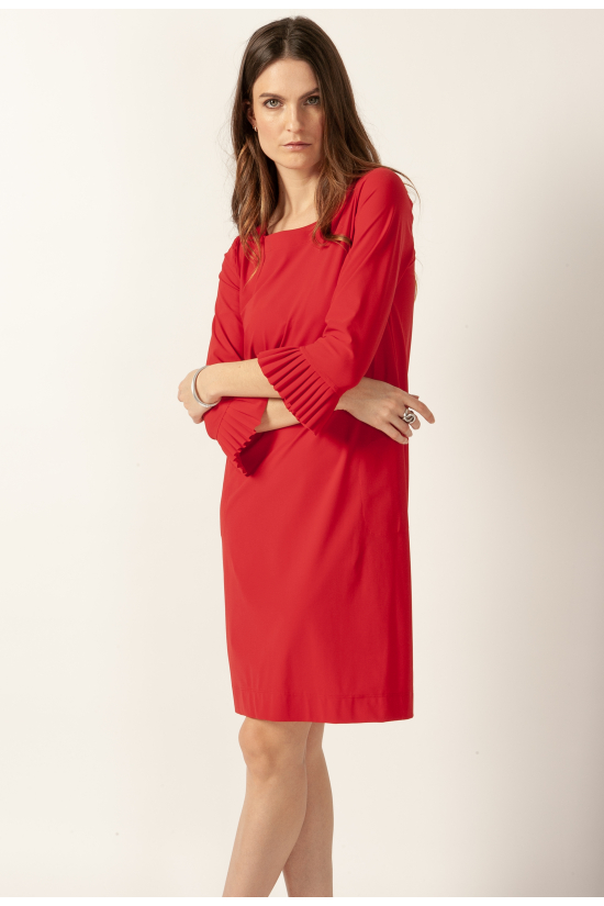ROBE LUCY rouge