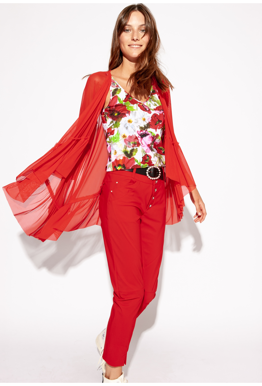 PANT HECTOR red